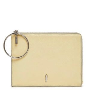THACKER Gable Leather Clutch